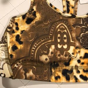 Intimates & Sleepwear - New with Tags! Leopard Butter Soft Sports Bra Top